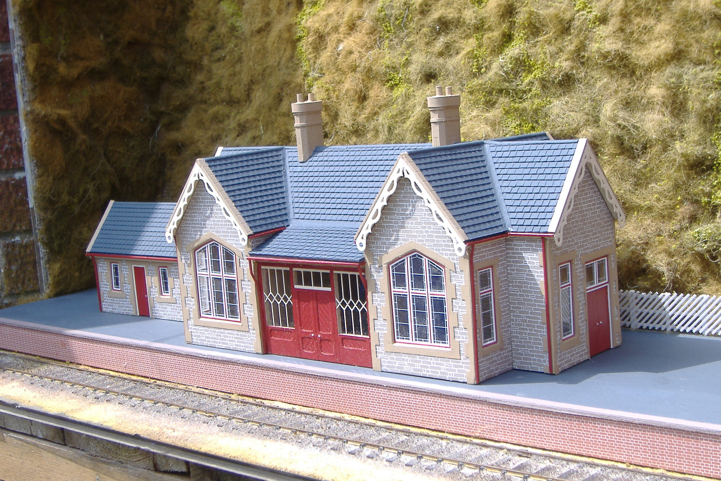 Model Railway Goods Buildings