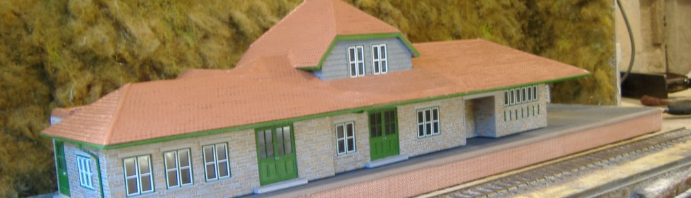 G R Penzer O Gauge Model Railway Buildings